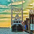 Single Fish Boat Hdr by Randy Harris