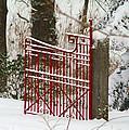 Single Red Gate by Randy Harris