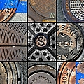 Sinuous Sewers by Marlene Burns