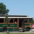 Sioux Falls Trolley by Charles Robinson