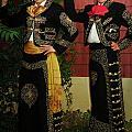 Sisters - In Full Regalia by Lenore Senior