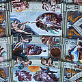 Sistine Chapel Ceiling by Bob Christopher