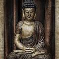Sitting Buddha by Carol Leigh