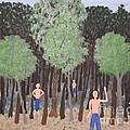 Six Little Cherokee by Gregory Davis