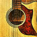 Six-string Acoustic Viii by Brian Davis