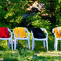 Six Summer Chairs by Ari Salmela