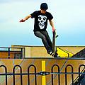 Skateboarding Xi by Sheila Laurens