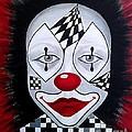 Skeptical...clown by Melina Mel P