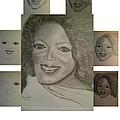 Sketching Oprah by Irving Starr