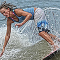 Skimmer Girl 3 by Wade Aiken