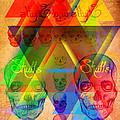Skulls And Skulls by Kenal Louis