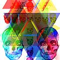 Skulls Illuminate Skulls by Kenal Louis