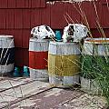 Skulls On Barrels by Ron Weathers