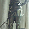 Skupture Tennis Player by Zlatan Stoilov