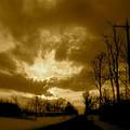 Sky Ablaze by Arthur Barnes