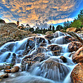 Sky Blue Falls by Scott Mahon