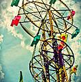 Sky Wheel Carnival Ride by Eye Shutter To Think Prints