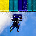 Skydivers by Brian Stevens