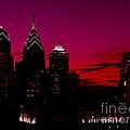 Skylline Of Philadelphia Pennsylvania by Heinz G Mielke