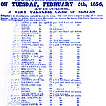Slave Auction Notice by Photo Researchers, Inc.
