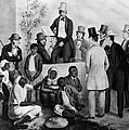 Slavery Auction, In The United States by Everett
