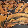 Sleeping Nymph4 - Female Nude by Carmen Tyrrell