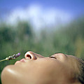 Sleeping Woman's Face by Cristina Pedrazzini