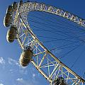 Slice Of The Wheel Of London Eye From An Angle by Ashish Agarwal