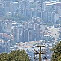 Sliven Bulgaria From Chair Lift by Tony Murtagh
