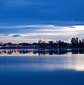 Small Town Reflections by Dana Kern
