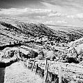 Small Twisty Narrow Country Mountain Road Through Glendun Scenic Route Glendun County Antrim by Joe Fox