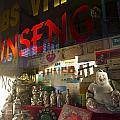 Smiling Buddha In The Window by Sven Brogren