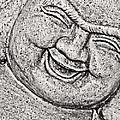 Smiling Buddha by Traci Cottingham