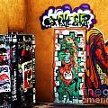Smoke Shop Grafitti Art  by Vicki Lomay