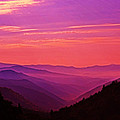 Smoky Mountain Sunrise 005 by George Bostian