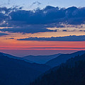 Smoky Mtn Sunset by Kenneth Green