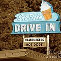 Sno-flake Drive In Lake Tahoe by Jim And Emily Bush