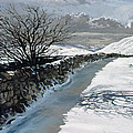 Snow Above Barbondale - Barbon by John Cooke