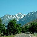 Snow Covered Pass Ahead by LeeAnn McLaneGoetz McLaneGoetzStudioLLCcom