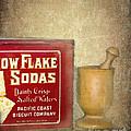 Snow Flake Soda Crackers by Betty LaRue