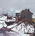 Snow In Elbasan by Ylli Haruni
