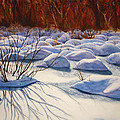 Snow Mounds by Daydre Hamilton