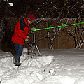 Snow Researcher by Ted Kinsman
