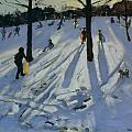 Snow Rykneld Park Derby by Andrew Macara