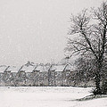 Snow Scape London Sw by Lenny Carter