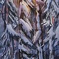 Snow Splattered 1 by Mohamed Hirji