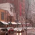 Snow Time by David Bearden