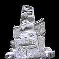 Snow Totem Pole by LeeAnn McLaneGoetz McLaneGoetzStudioLLCcom