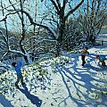 Snowball Fight by Andrew Macara