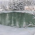 Snowy Day by Olena Lopatina